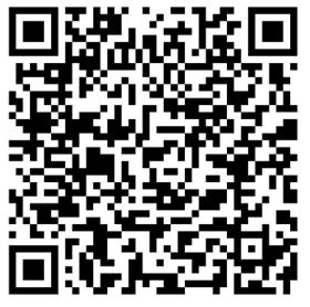 Zdjęcie przedstawia kod QR, dzięki któremu można w łatwy sposób otworzyć ukryty kod na telefonie komórkowym.